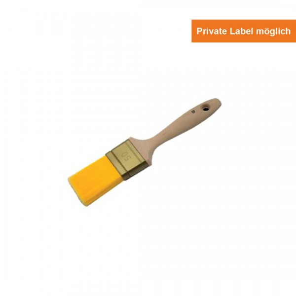 Yellow Line Flach Pinsel Holz