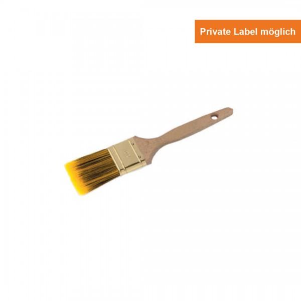 Yellow Black Line Flach Pinsel Holz